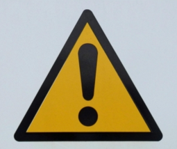 warning caution